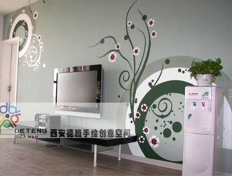 南京80后最喜爱的20款墙面画设计图 让家美如画