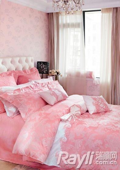 玫瑰粉色点缀居室 浪漫季节保鲜LOVE