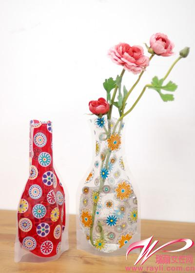 10款神奇便携水袋花瓶