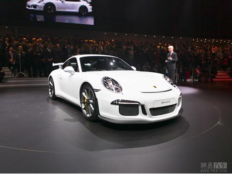 新款保时捷911 gt3将亮相上海