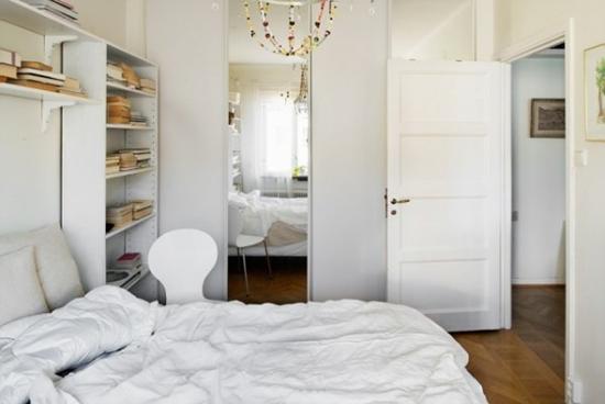 阳光照耀的44平米单身公寓设计图片