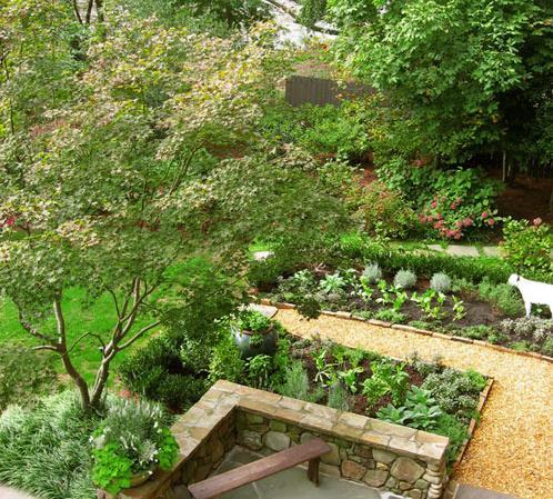 做都市小农民 分享8个花园变身菜园设计图片