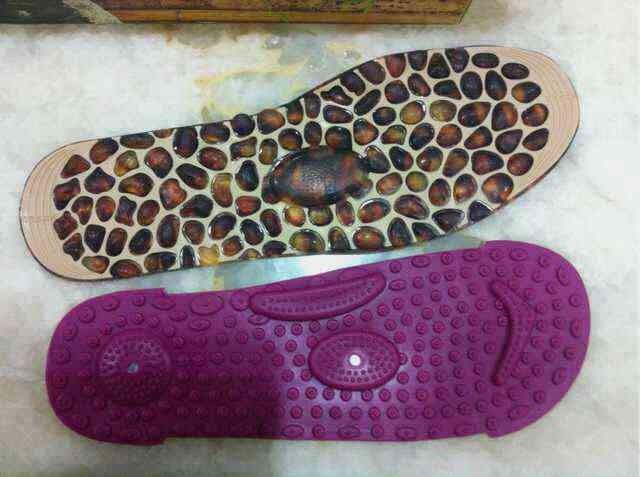 双面磁石按摩鞋垫