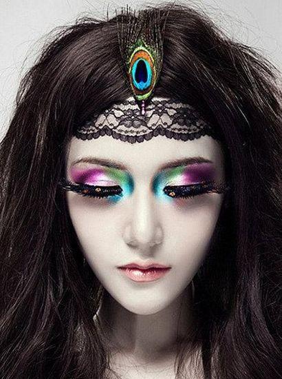 风格迥异的个性新娘妆造型图片