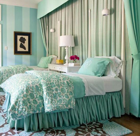 卧室墙纸装修效果图 15款唯美墙面风景(组图)