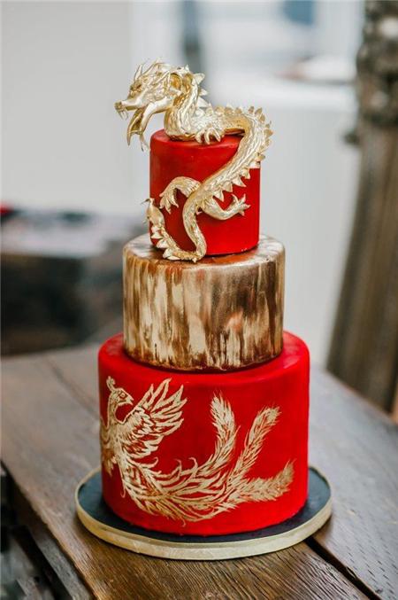 西式婚礼上的中式婚礼蛋糕—婚嫁资讯—晋江新闻网