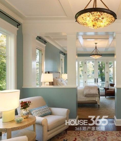 2013卧室装修效果图欣赏:颜色、户型、搭配……一切都太美