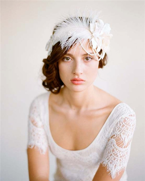 高贵典雅 欧式风味新娘发箍
