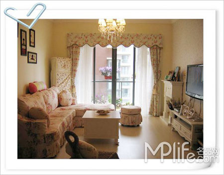 小户型室内装修设计 很值得你借鉴的案例 :客厅全貌
