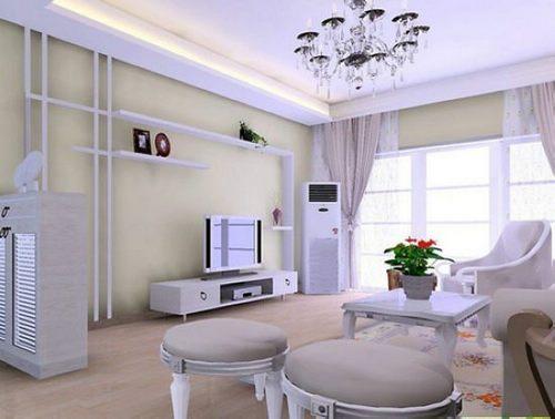 30张小客厅超强收纳电视背景墙 小户型装修效果图