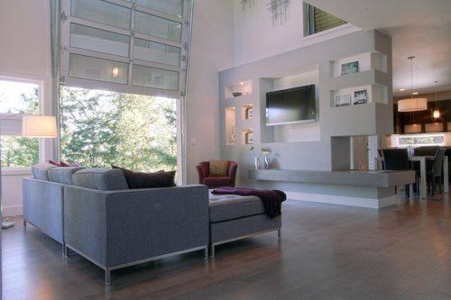 30張小客廳超強收納電視背景墻 小戶型裝修效果圖