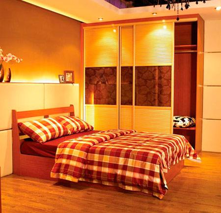 最新衣柜设计效果图 实用的卧室装修案例