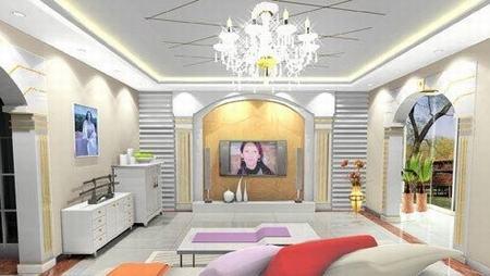 2014年最流行的电视背景墙 帮你家客厅找设计灵感