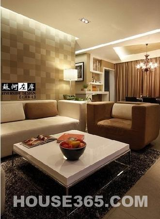 小户型装修实景图 两室两厅温馨色调秀