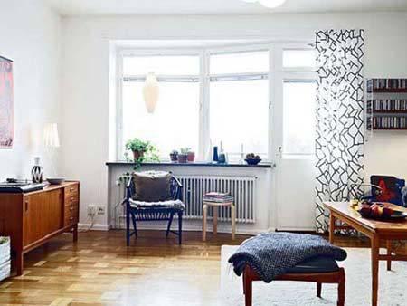 60多平米小户型装修 年轻人最爱的清新家居