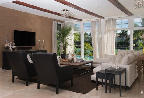 别墅装修设计乡村将室外案例与图纸完美结合小美景二层三房厅别墅内饰一v别墅图片