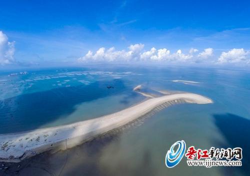 保护沙堤,吸引白鹭,让沙堤成为晋江又一道美丽的风景线