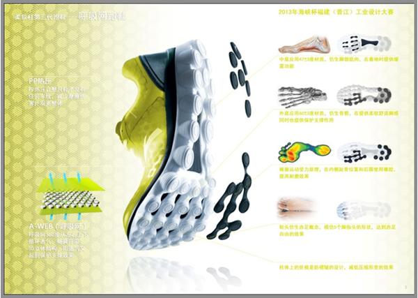 呼吸網跑鞋