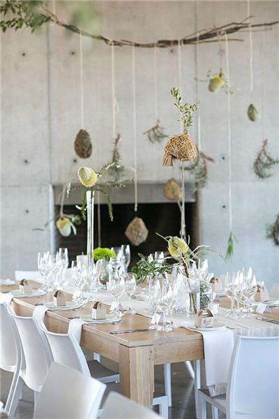 清新简约的宜家风婚礼场地布置—视觉盛宴—晋江新闻