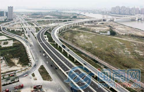 晋江机场连接线明日部分通车 泉州至机场仅需10分钟