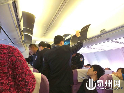 晋江飞南京航班一男子拒系安全带还爆粗—晋江新闻网