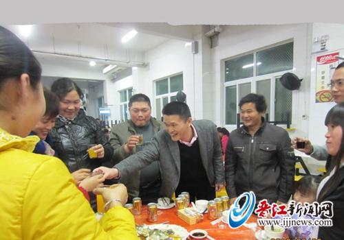 【春节记忆】刘波:家人在晋江 晋江就是家