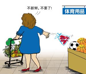 超市文明购物 你做到了吗?