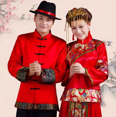 中式婚礼新郎服装搭配图片推荐—婚嫁资讯—晋江新闻