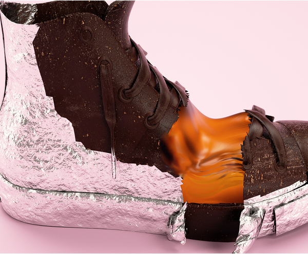 Antoni Tudisco的创意胶底运动鞋 - 图6