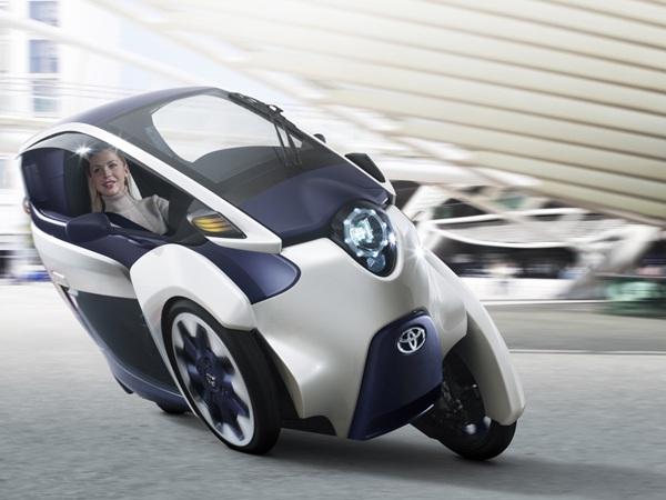 丰田i-Road电动概念车