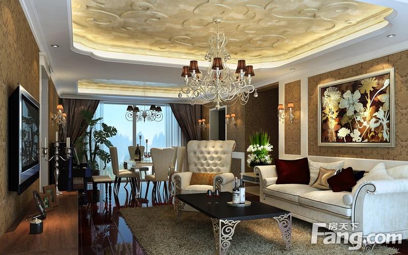 选择豪华装修来装修100平的房子