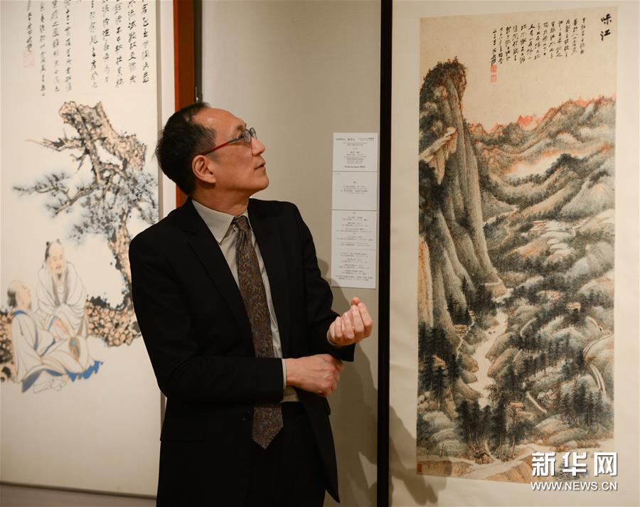 张大千晚年重要泼墨作品将亮相香港苏富比2016年春拍 图