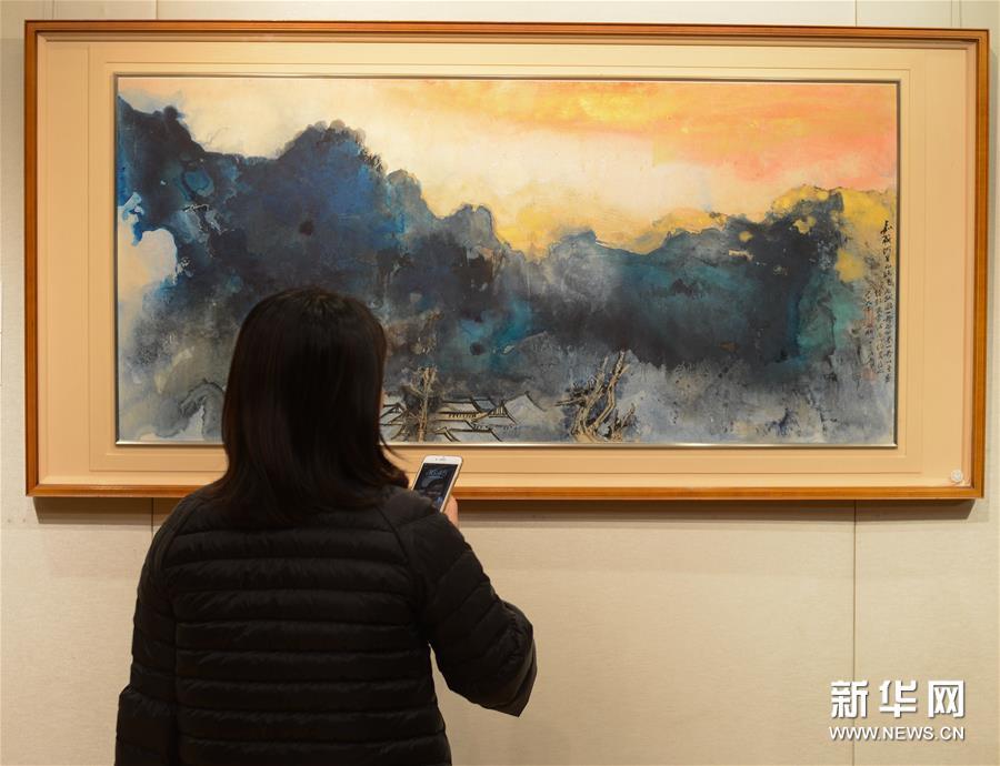 (文化)(1)张大千晚年重要泼墨作品将亮相香港苏富比2016年春拍