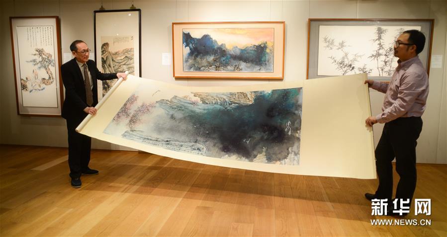 (文化)(3)张大千晚年重要泼墨作品将亮相香港苏富比2016年春拍