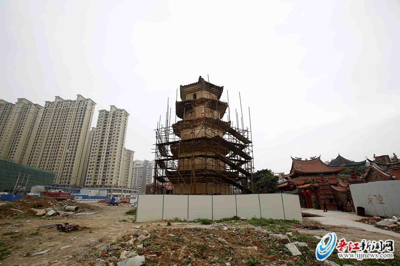 安海白塔修缮工程预计7月中旬完成—晋江新闻网