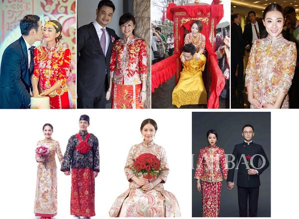 涨姿势!裙褂or旗袍?傻傻分不清楚….全方位教你了解中式传统礼服,变身古典美人