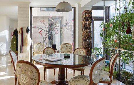 波普水墨韵风 艺术家的新中式住宅