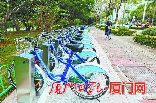 厦门岛内将增5000辆公共自行车