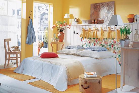 墙面颜色选得好 睡觉无扰起得早