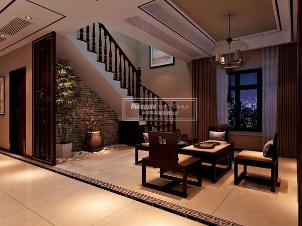 别墅楼梯装修风水:上下通畅家运旺