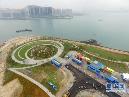 """福建漳州双鱼岛首个以海豚为主题的经营性旅游景点"""""""