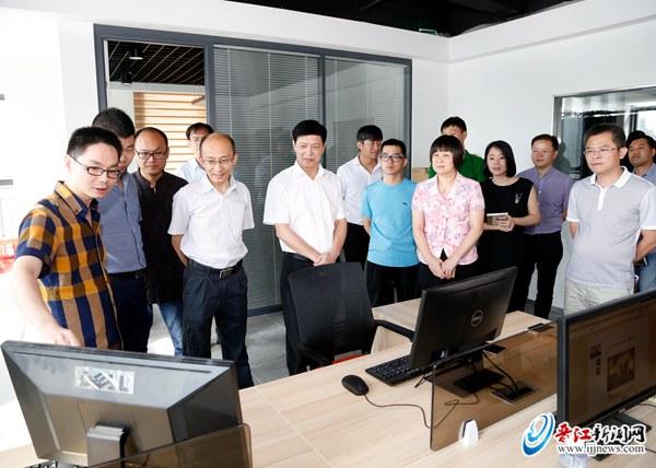 晋江市领导走访新闻宣传单位