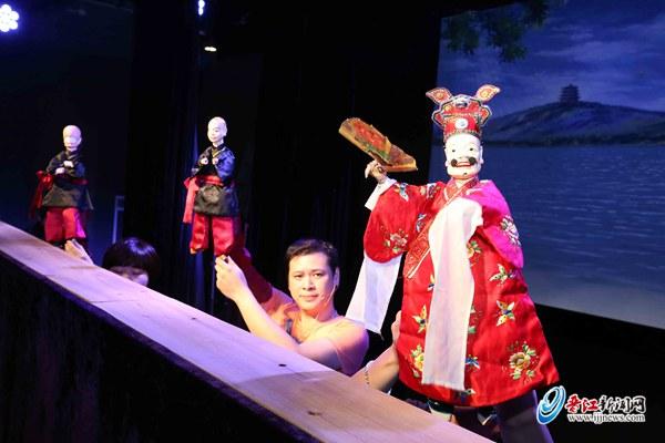 掌中木偶晋江高甲下周将参加省百折传统折子戏展演
