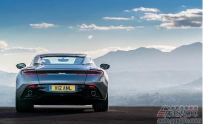 黑色魅惑2017款阿斯顿马丁DB11性能评测