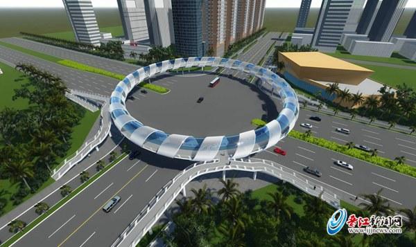 圆形广场铺设方案