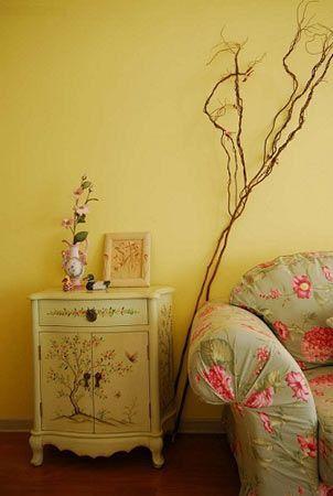 完美家居布置 让138平单调家变玫瑰色动人爱家