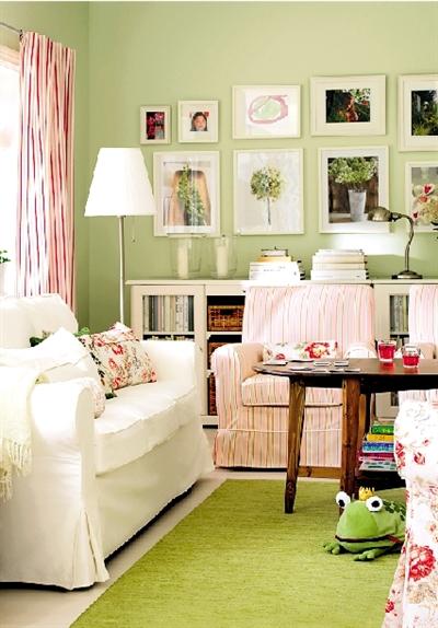 色彩改变空间氛围 家居配色有法可循
