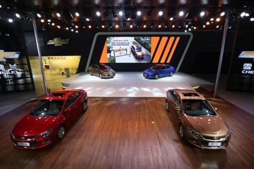 雪佛兰7款车型亮相成都科沃兹售7.99-10.99万元