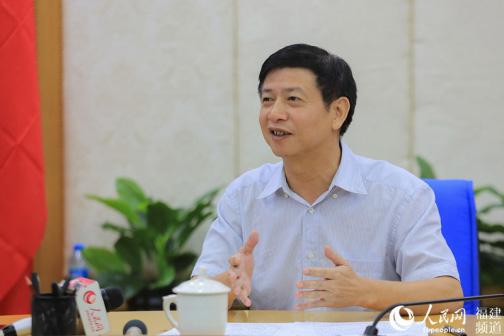 刘文儒书记接受人民网专访