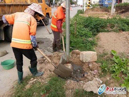 做好防范台风工作 保障公路安全畅通
